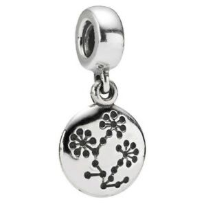 Pandora Charm- Lucerne Flower Cancer Awareness